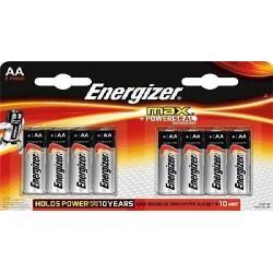 ENERGIZER MAX LR6 (AA) BL8