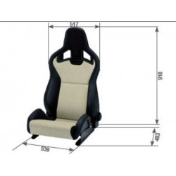 ASIENTO RECARO CROSS...